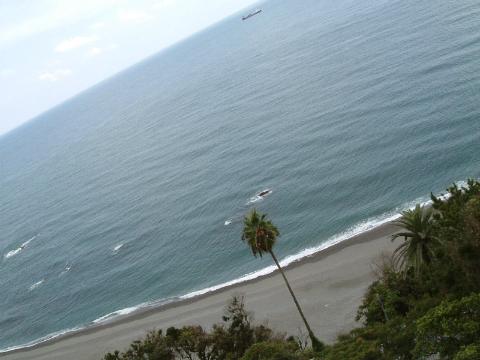坂本龍馬記念館屋上からの眺め