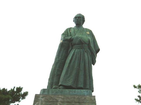 坂本龍馬像 桂浜
