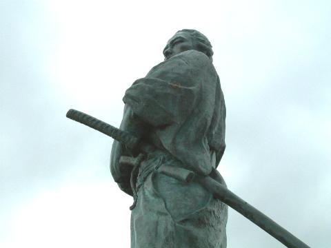坂本龍馬像 長崎