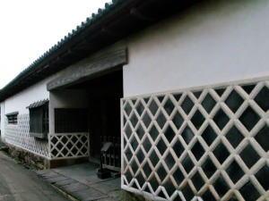 口羽家住宅となまこ壁