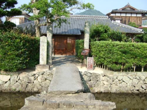 桂太郎旧宅入口
