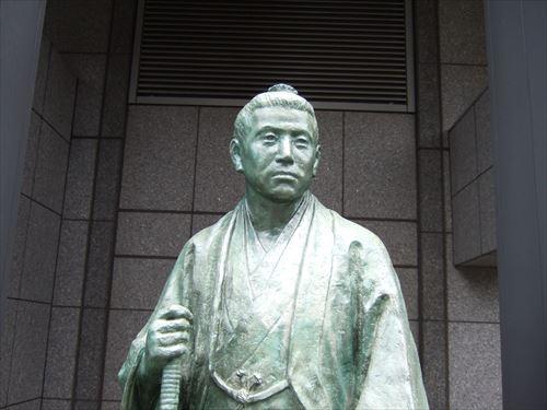 桂小五郎像(京都ホテルオークラ内)