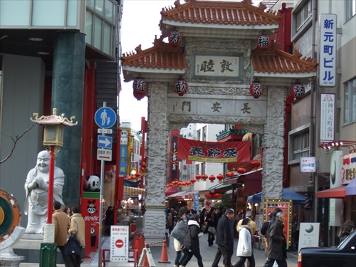 南京町・中華街の入口