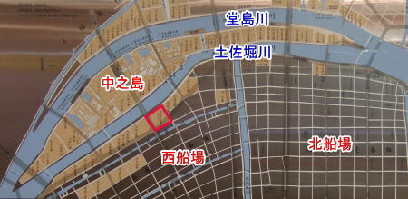 幕末大阪古地図