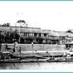 幕末当時の八軒家浜の様子