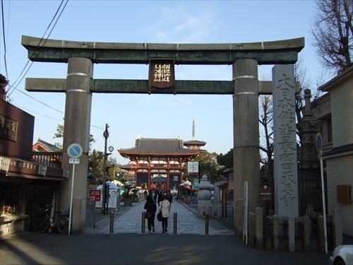 四天王寺入口付近