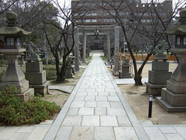 土佐稲荷神社参道