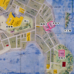 鞆の浦江戸時代古地図
