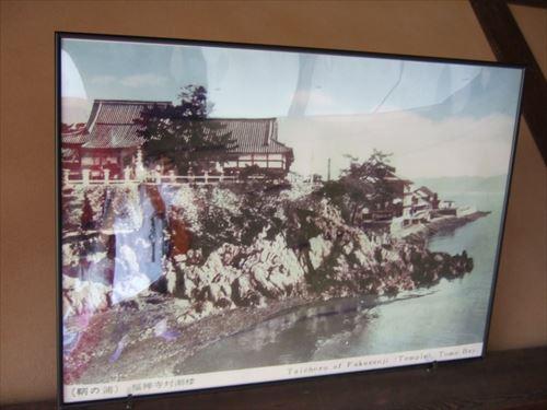 禅福寺・対潮楼のすぐ前が海だったことがわかる写真