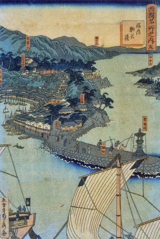 鞆の浦古地図