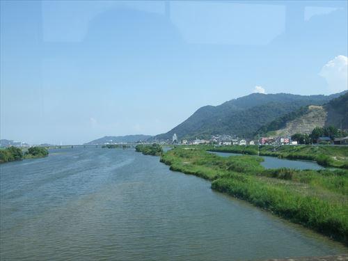 鞆の浦バスからの眺め