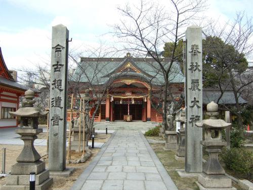 大阪・土佐稲荷神社正面
