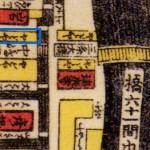 三条通り池田屋古地図