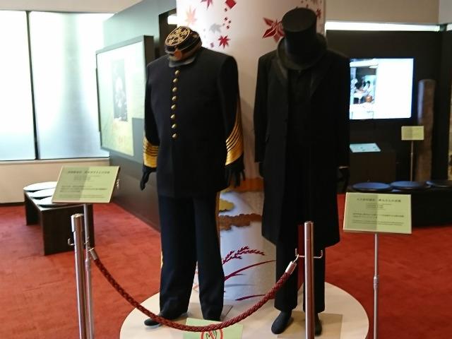 「維新ふるさと館」西郷隆盛の軍服