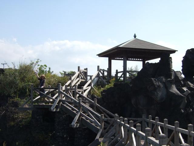 桜島の遊歩道