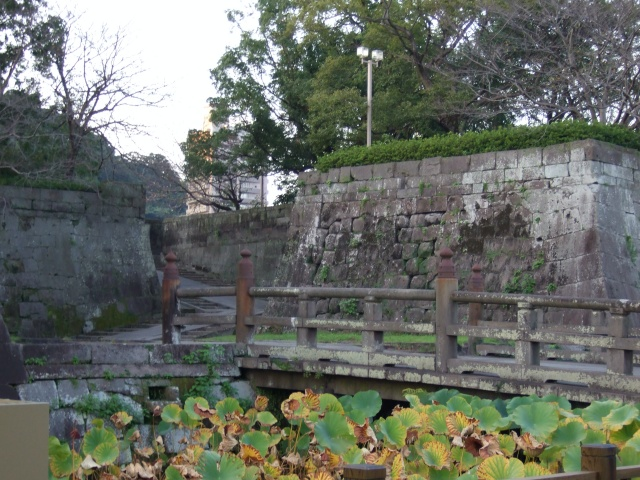 鶴丸城(鹿児島城)城壁