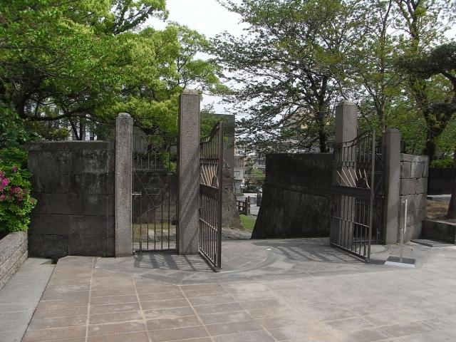 鶴丸城(鹿児島城)正門跡