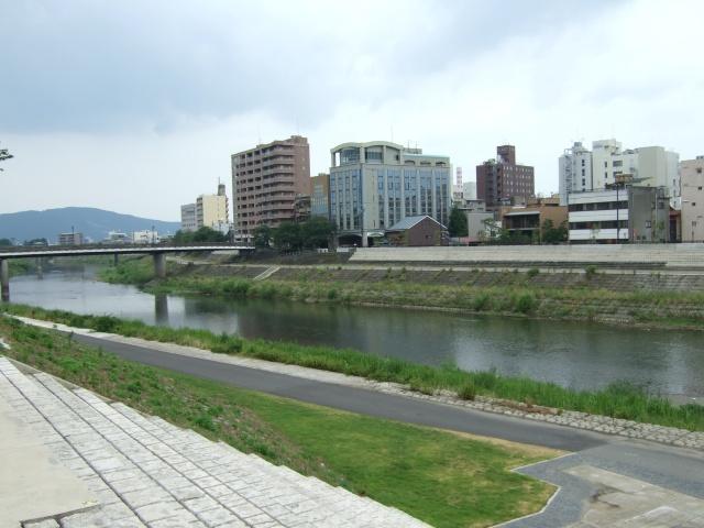 福井の足羽川周辺