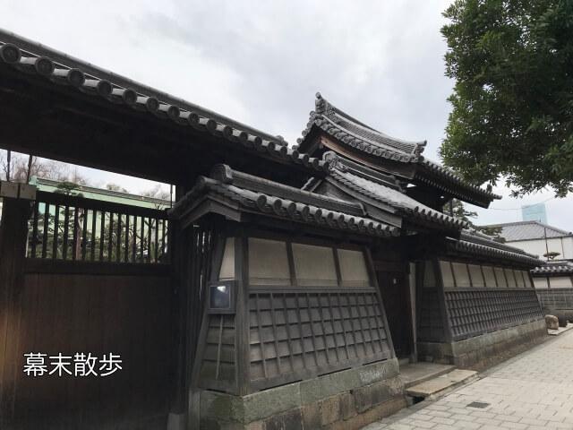 新選組 大坂旅宿跡(屯所)「萬福寺」